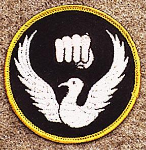 Dove and Fist Patch